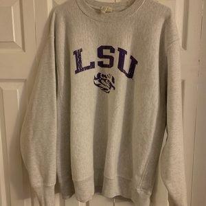 Champion brand LSU sweatshirt